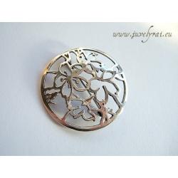 657 Silver brooch Ag 925