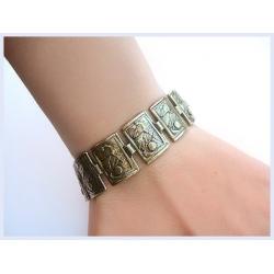730 Brass bracelet