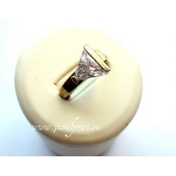 859 Žalvarinis žiedas su Cirkoniu