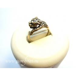869 Žalvarinis žiedas