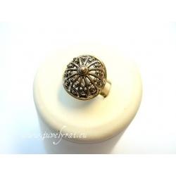 871 Žalvarinis žiedas