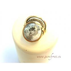 Žalvarinis žiedas su Jaspiu