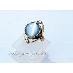 1311 Žalvarinis žiedas su Katės akim
