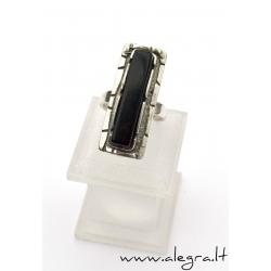 1530 Sidabrinis žiedas su Oniksu Ag 925