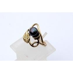 1547 Žalvarinis žiedas su Perlu
