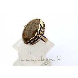 1549 Žalvarinis žiedas