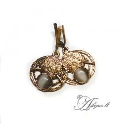 1864 Žalvariniai auskarai