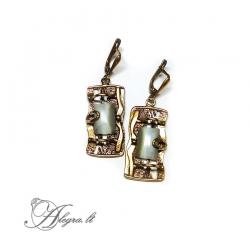 1865 Žalvariniai auskarai