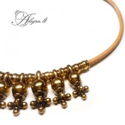 1921 Brass necklace