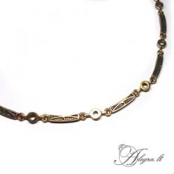 1922 Brass necklace