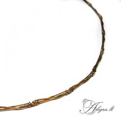 1924 Brass necklace