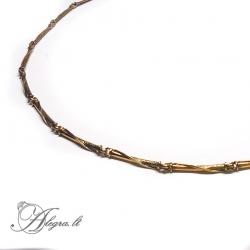 1925 Brass necklace