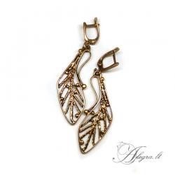512 Brass earrings