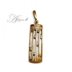 1970 Brass pendant
