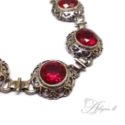 469 Silver bracelet with Zircon Ag 925