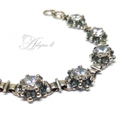 1714 Silver bracelet with Zircon Ag 925