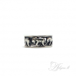 1746 Silver ring Ag 925