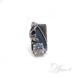 1745 Sidabrinis žiedas su Cirkonio Ag 925