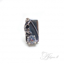 1745 Silver ring with Zircon Ag 925
