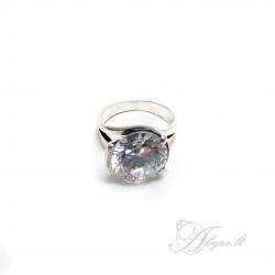438 Sidabrinis žiedas su Cirkoniu i.m Ag 925