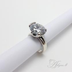 438 Sidabrinis žiedas su Cirkoniu Ag 925