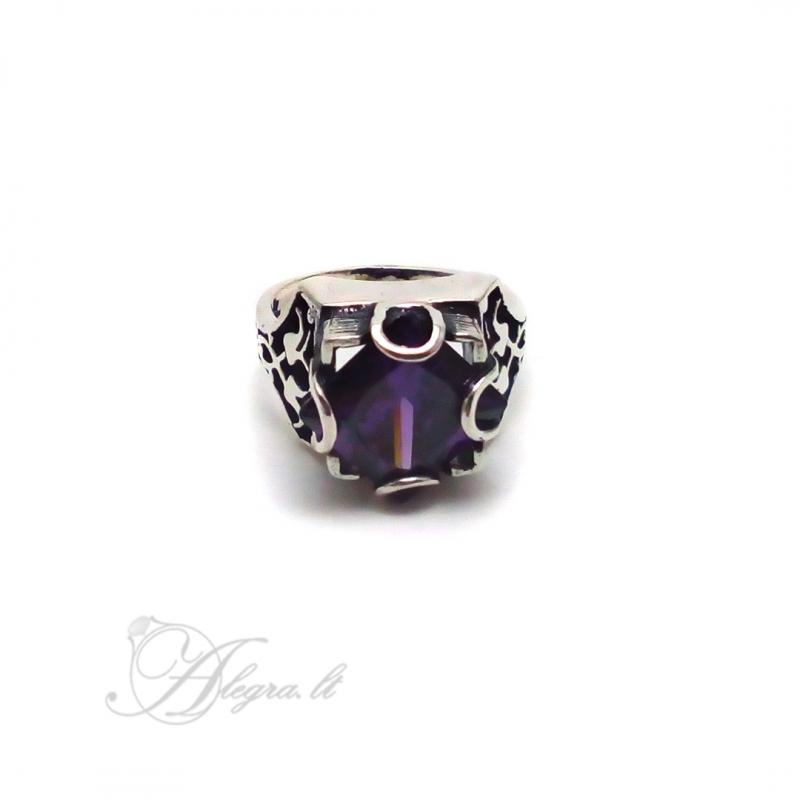 1535 Sidabrinis žiedas su Cirkoniu Ag 925
