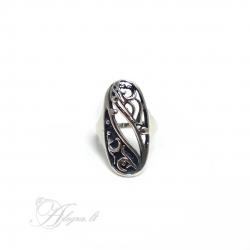 1743 Sidabrinis žiedas Ag 925