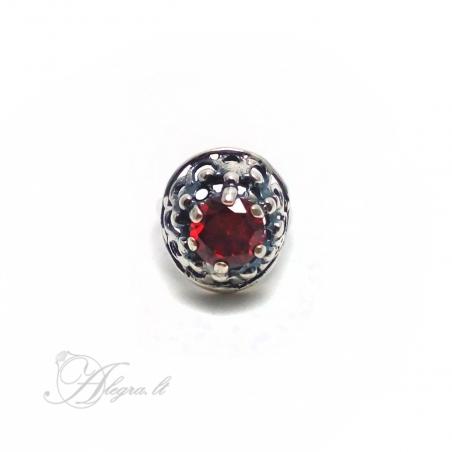 1536 Sidabrinis žiedas su Cirkoniu Ag 925