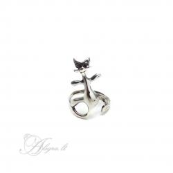 440 Sidabrinis žiedas Ag 925