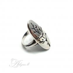 2023 Sidabrinis žiedas Ag 925