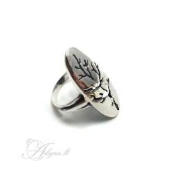Sidabrinis žiedas Ag 925