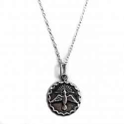 """Silver medallion """"Holy Spirit"""" [KM15][Pakabukas, grandinėlė]"""