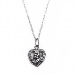 Amūras širdelėje - sidabrinė dovana Pirmajai Komunijai