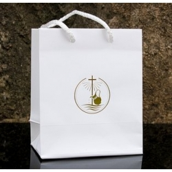 "Bag with ""christening"" logo 130x150x70"