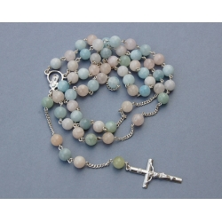 Silver Rosary [R033]