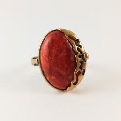 2209 Žalvarinis žiedas