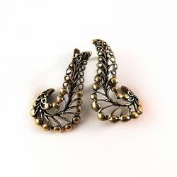 2237 Brass earrings