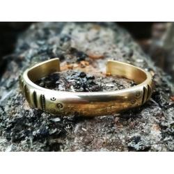 2277 Brass bracelet