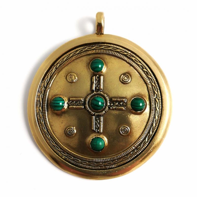 """Didelis tautinis autentiškas Medalionas """"Kabutis"""""""