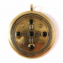 """2286 Brass pendant """"Kabutis"""""""