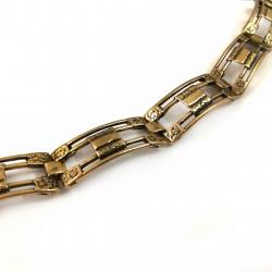 2358 Brass bracelet bracelet
