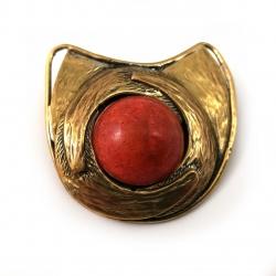 2373 Brass pendant