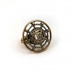 2395 Žalvarinis žiedas