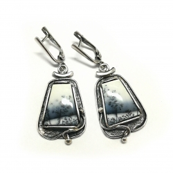 2435 Silver earrings Ag 925