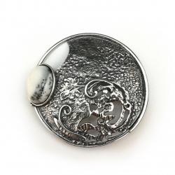 2438 Silver brooch