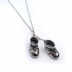 Silver Shoes - Christening Gift Idea (1190)