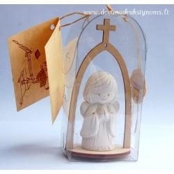 Rankų darbo angelėlis koplytėlėje [MA08]