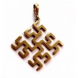"""2223 """"Perkūnas"""" Brass pendant"""