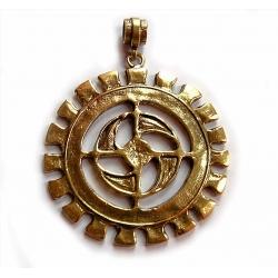 1137 Brass pendant