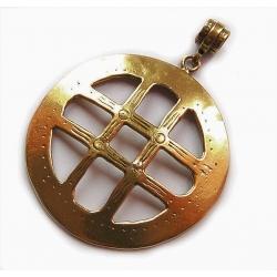 2224 Brass pendant
